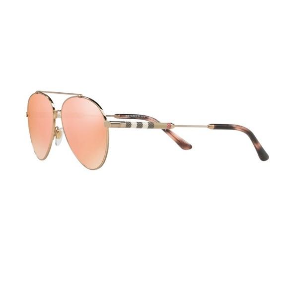 ce4e33985202 Burberry Accessories - Authentic Burberry Check Polarized Sunglasses